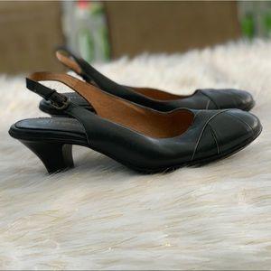 Softspots genuine leather slingback size 11W